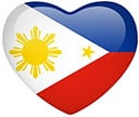 Filipino Heart Flag